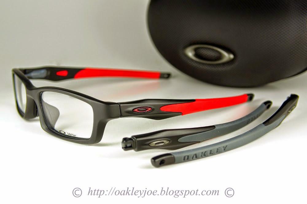 red and black oakleys p171  Oakley Crosslink Red