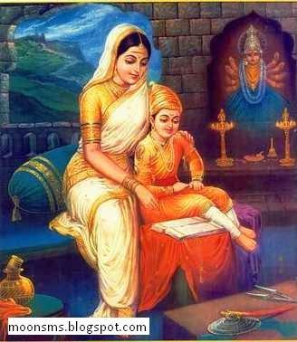 Rajmata Jijabai जीज़ाबाई भोसले राजमाता जिजाऊ sms text message Marathi poem, jijamata with gif animated images picture HD wallpaper