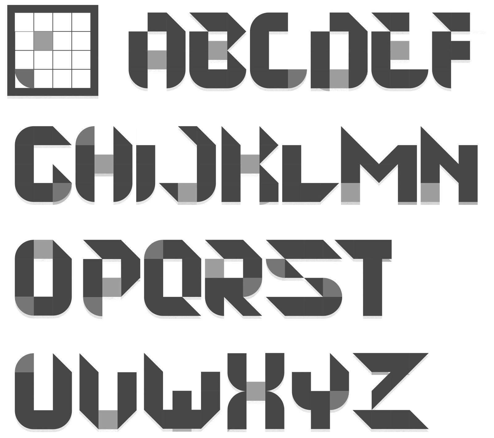 esta tipografa es un poco mas informal que pretende imitar la tipografa manual