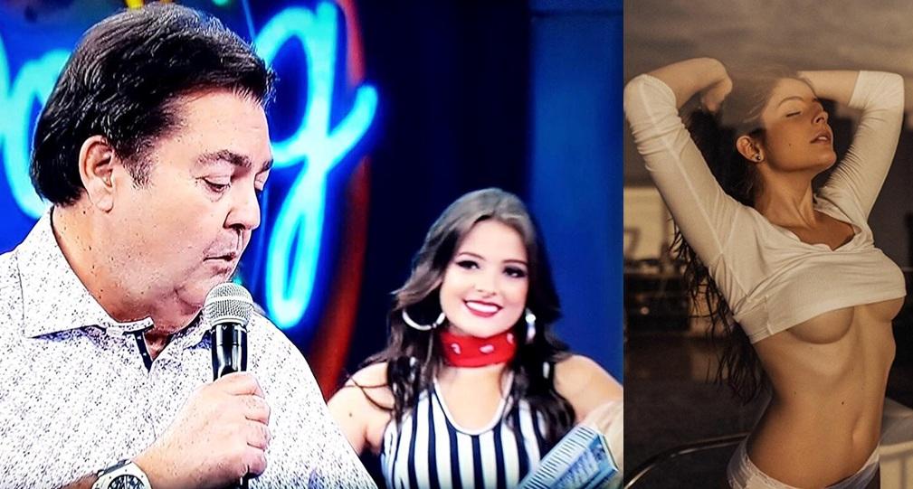 Bailarina do Domingão do Faustão a atriz e modelo Stella Abreu mostra por que é querida pelos fãs n