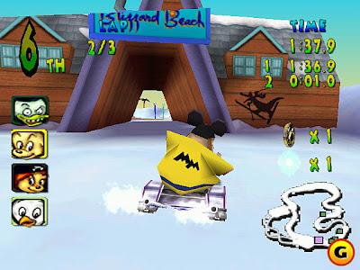 Walt Disney World Quest Racing Game Portable 3