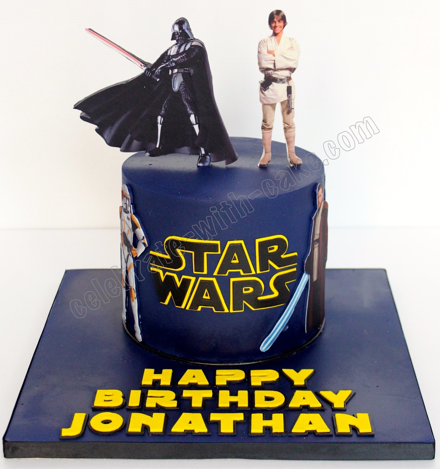 Celebrate With Cake Star Wars