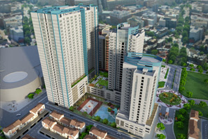 Celadon Park Manila Perspective