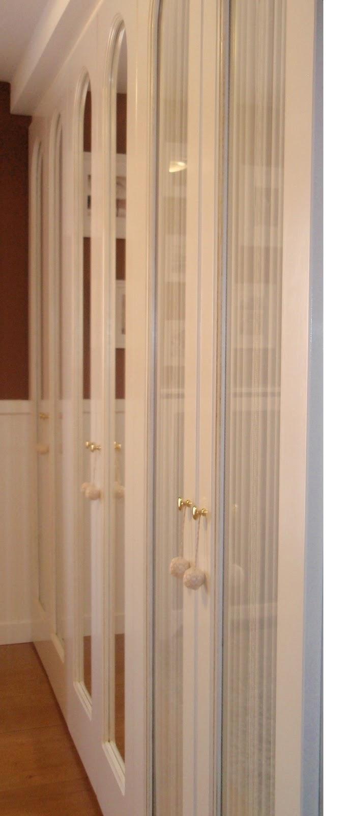 Armario empotrado lacado en blanco carpinter a y - Armario empotrado blanco ...