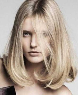 model gaya rambut a line lob 2016_23015647