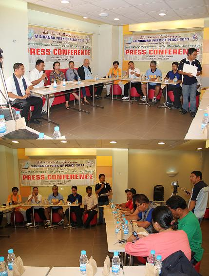 Mindanao Week Of Peace 2011 Celebration Press