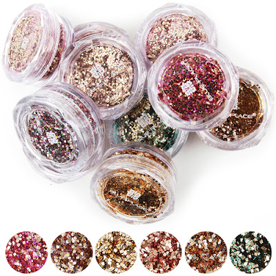 Glitter Nail, Glitter Nail Designs, How to Create a Glitter