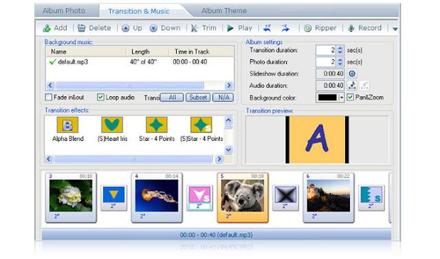 برنامج دمج الصور بالصوت