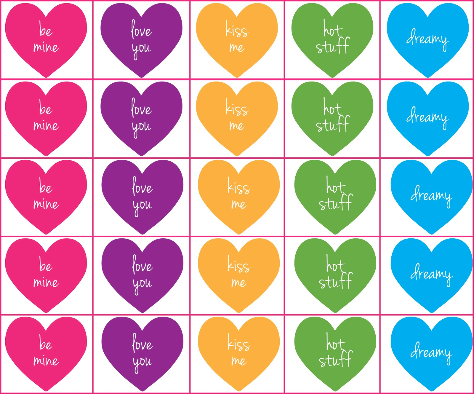 short stack studio sweetheart party with free printable