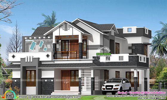 Contemporary style beautiful villa