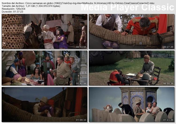 Imagenes HD: Cinco semanas en globo   1962   Five Weeks in a Balloon