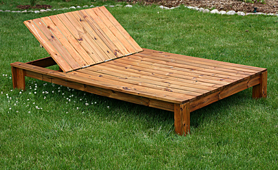 Pdf diy wooden double chaise lounge plans download wooden for Build chaise lounge