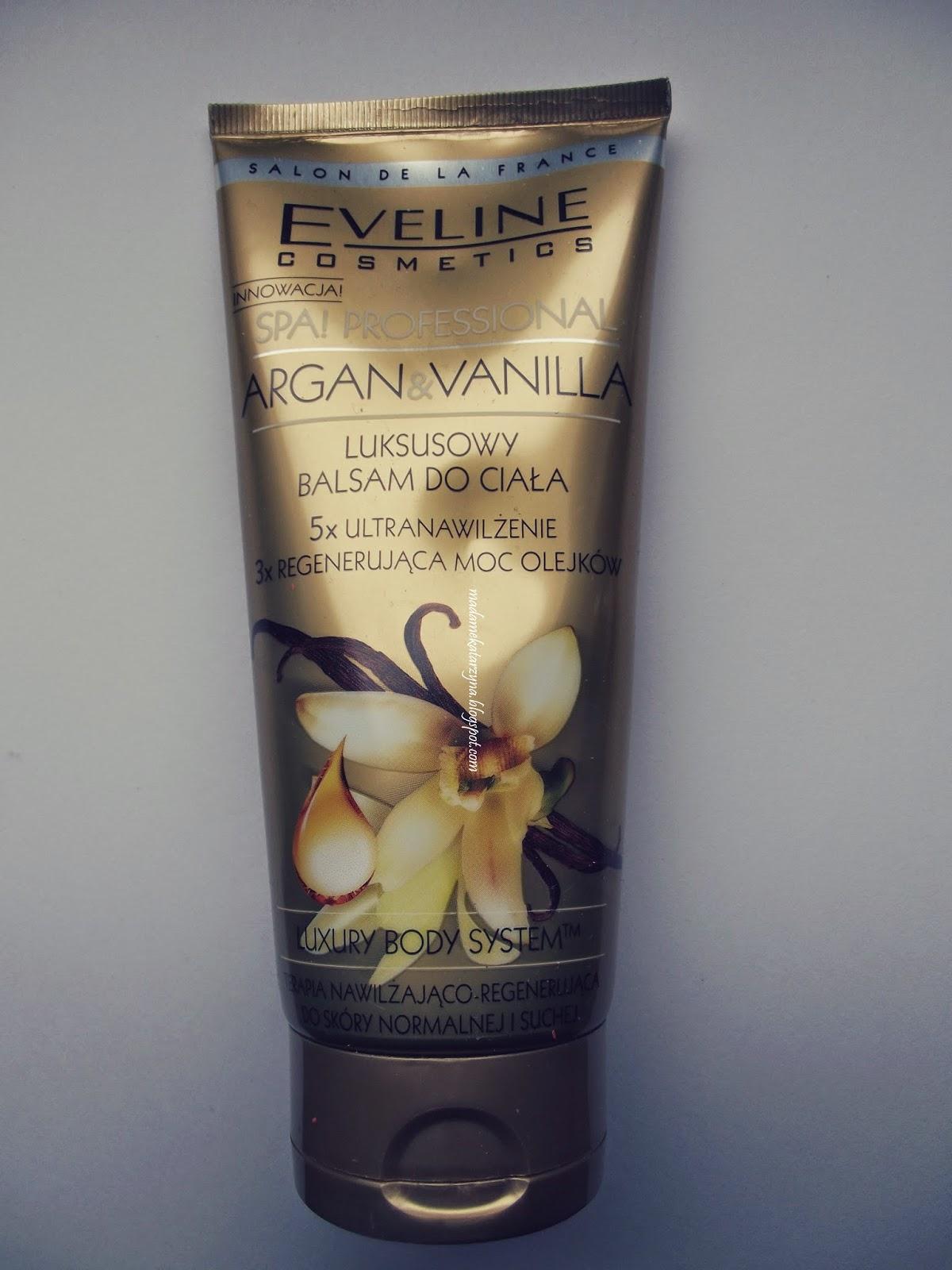 Eveline, Argan & Vanilla, Luksusowy balsam do ciała  ♥ recenzja