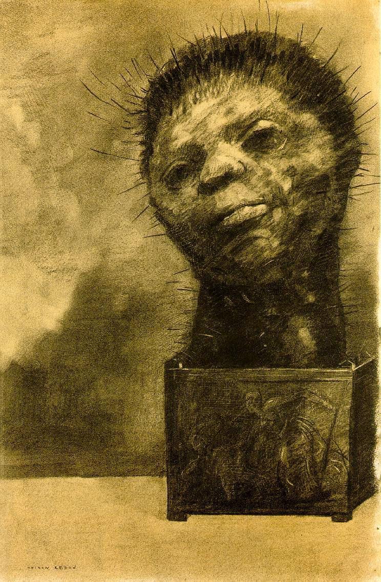 Odilon Redon: 'Cactus Man'