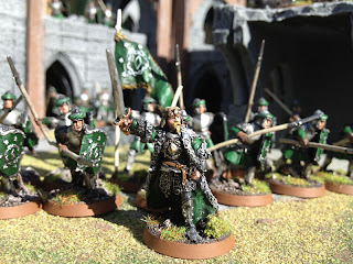 The Hobbit SBG Kings warband of Arnor