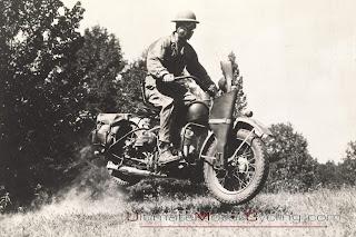 Harley Davidson segunda guerra mundial