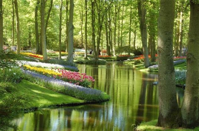 Keukenhof Gardens – Netherlands.