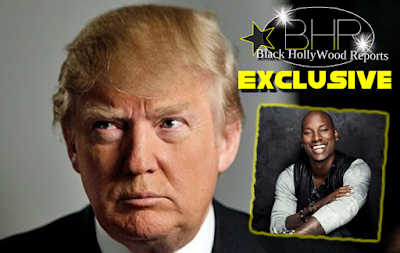 Tyrese Sends Open Note Letter To Donald Trump