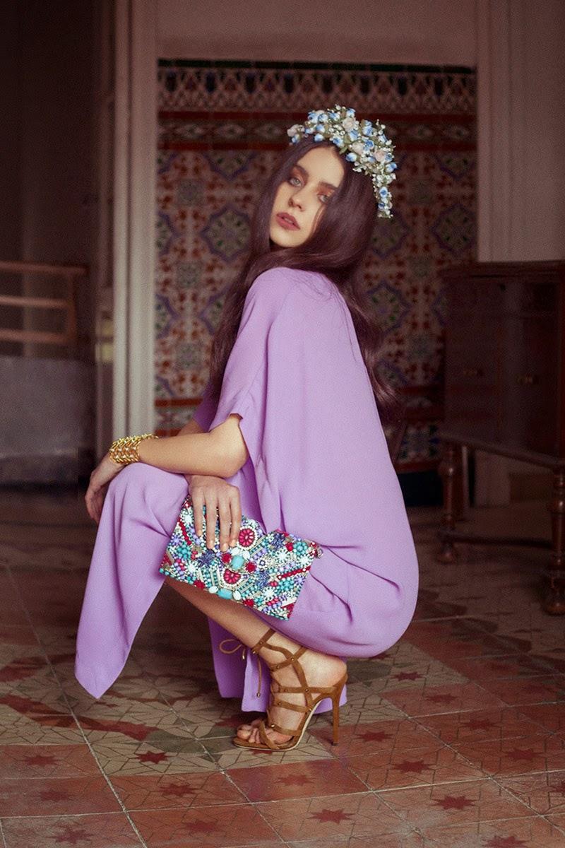 Cómo vestir para asistir a una fiesta Flower Power * AURORA VEGA