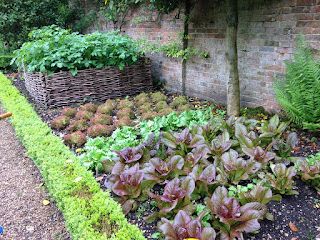 West Green House Garden vegetables