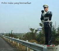 Polisi malas yang bermanfaat, Agung Car