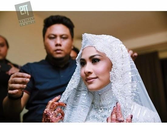 Fouziah Gous Sah Menjadi Isteri Zhafran