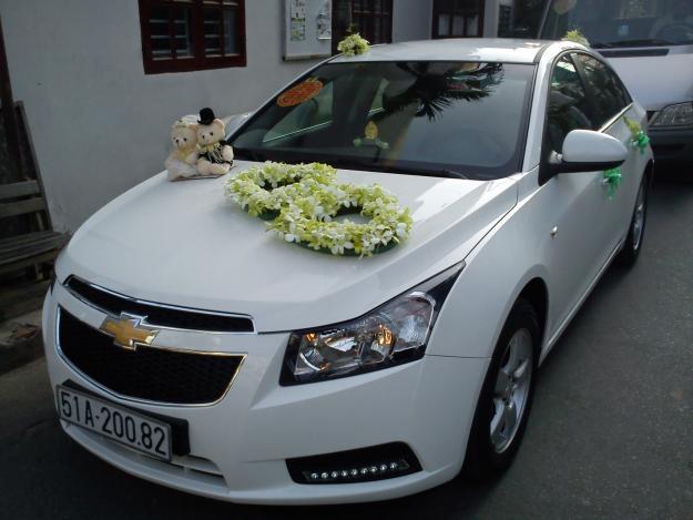 Xe cưới Chevrolet Cruze,xe cươi Chevrolet ,xe cưới cho thuê