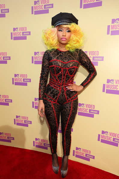 Nicki Minaj Jumpsuit 2012 Mtv Video Music Awards Krazy Fashion Rocks