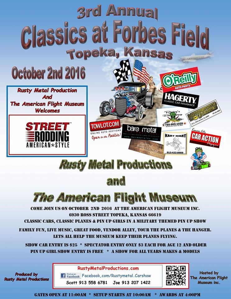 3rd Annual Classics at Forbes Field Car Show