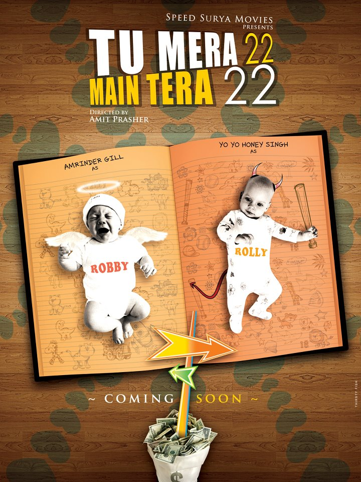 Tu Mera 22 Main Tera 22 Upcoming Punjabi Movie