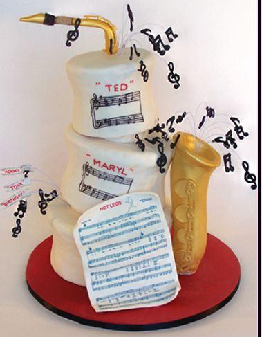 Tartas Originales para Amantes de la Música.