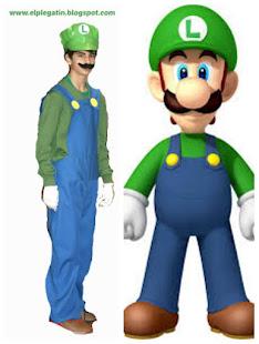 Carnaval - disfraz de Luigi Bros