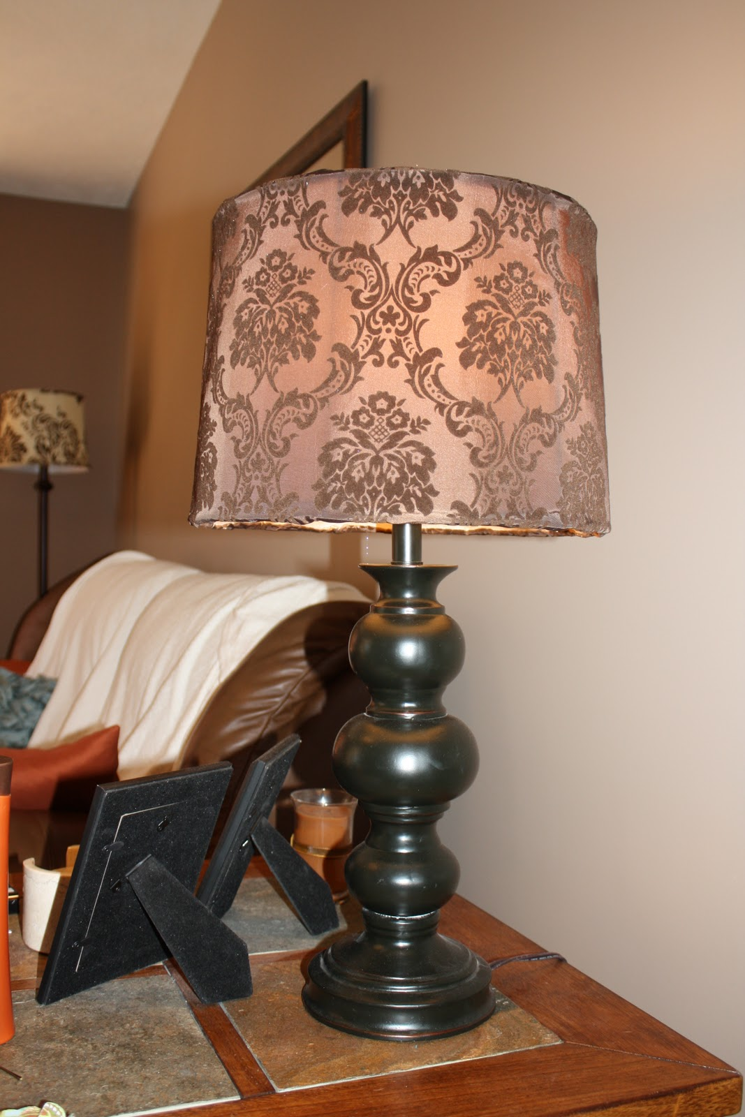 Parr point how to redo a lamp shade for Redo lamp shades
