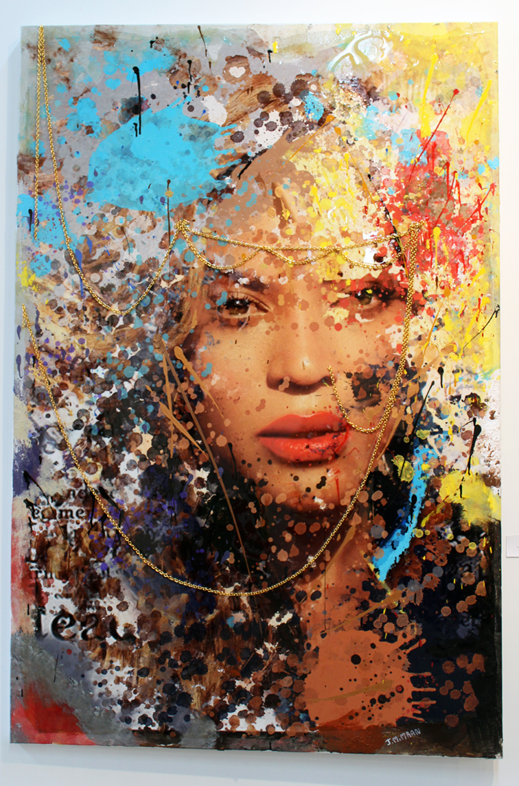 Yonce by Julie Mimran in Lulu Laboratorium in Wynwood, Art Basel Miami 2014, Beyonce