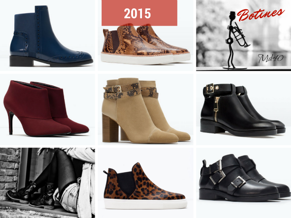 zapatos y sandalias primavera  verano 2015 tendencias botines