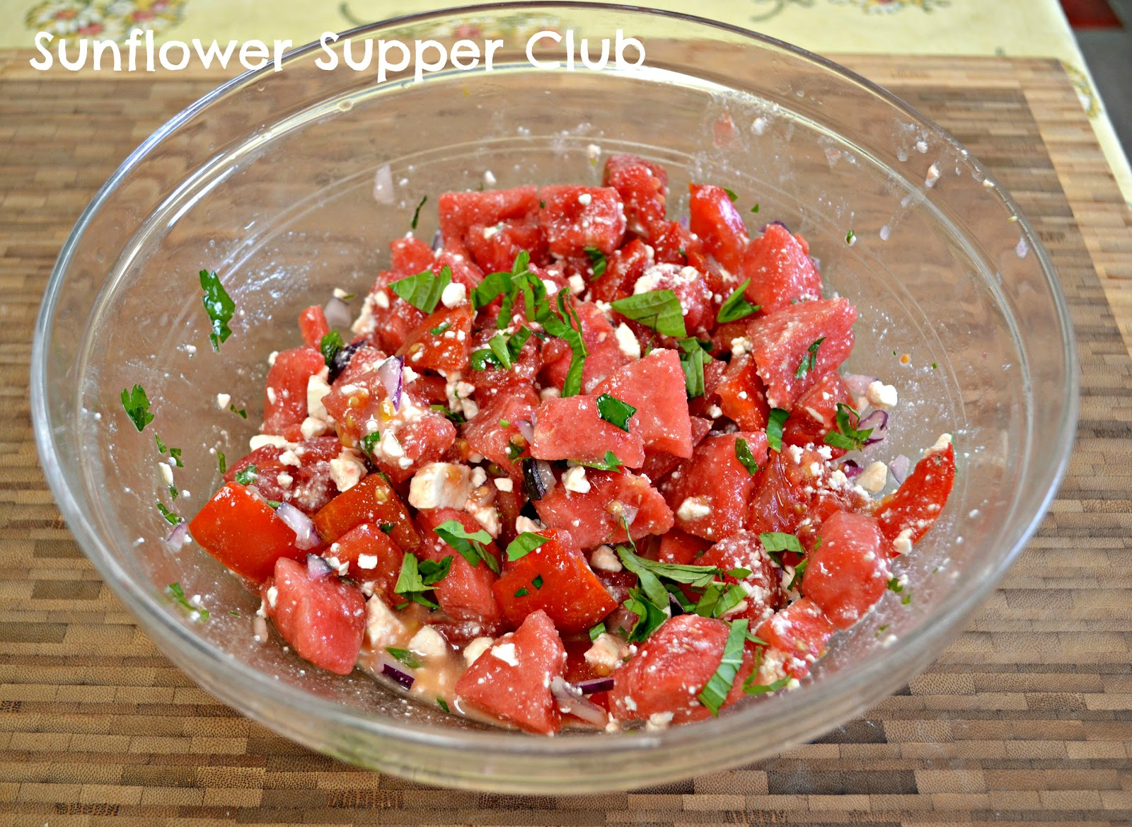 Tomato And Watermelon Salad With Feta Cheese Recipes — Dishmaps