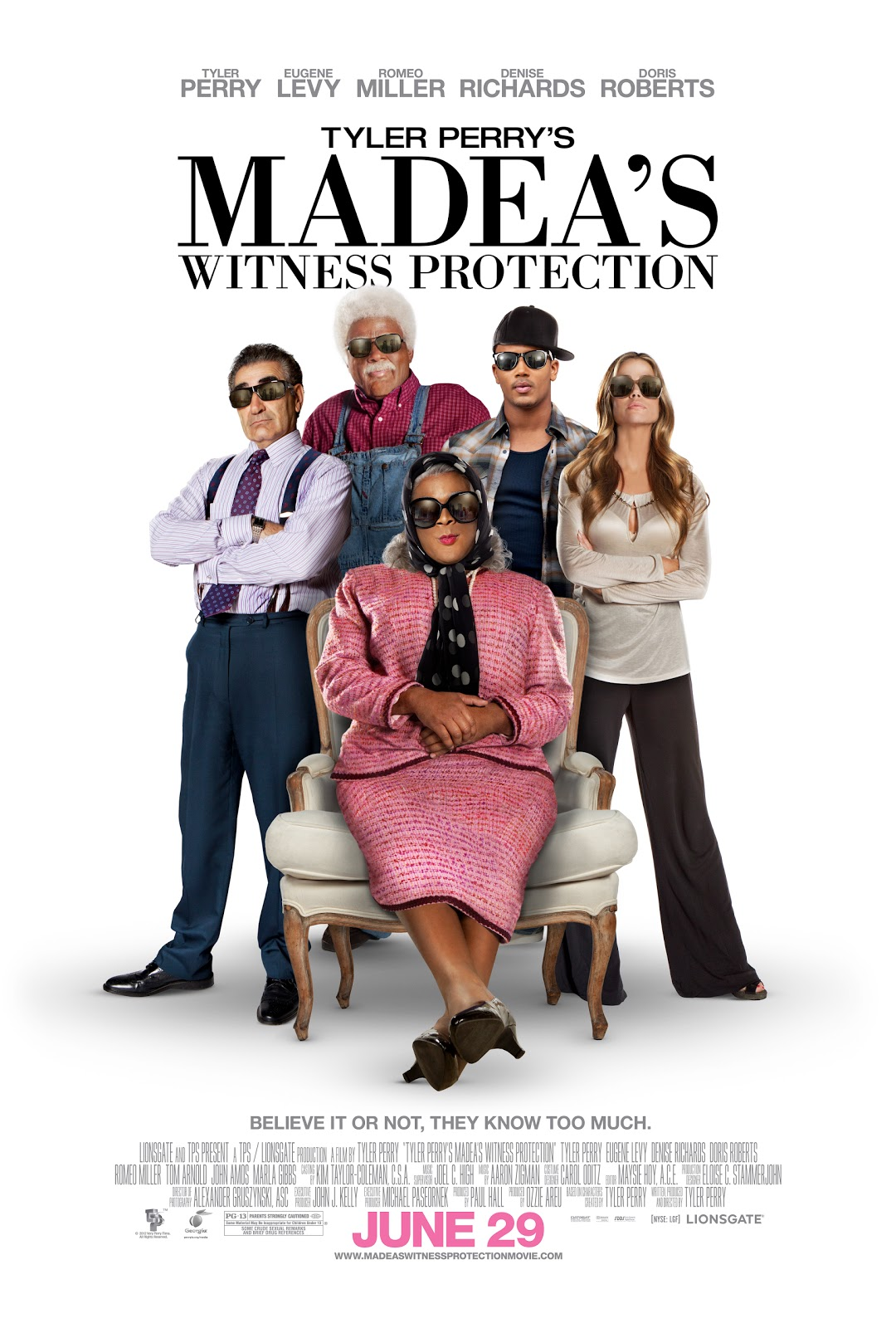 Watch Madea's Witness Protection Movie Online Free 2012