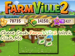 Cheat cash FarmVille 2 , farmville2