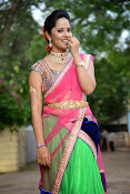 Anasuya photos in half saree-thumbnail-19