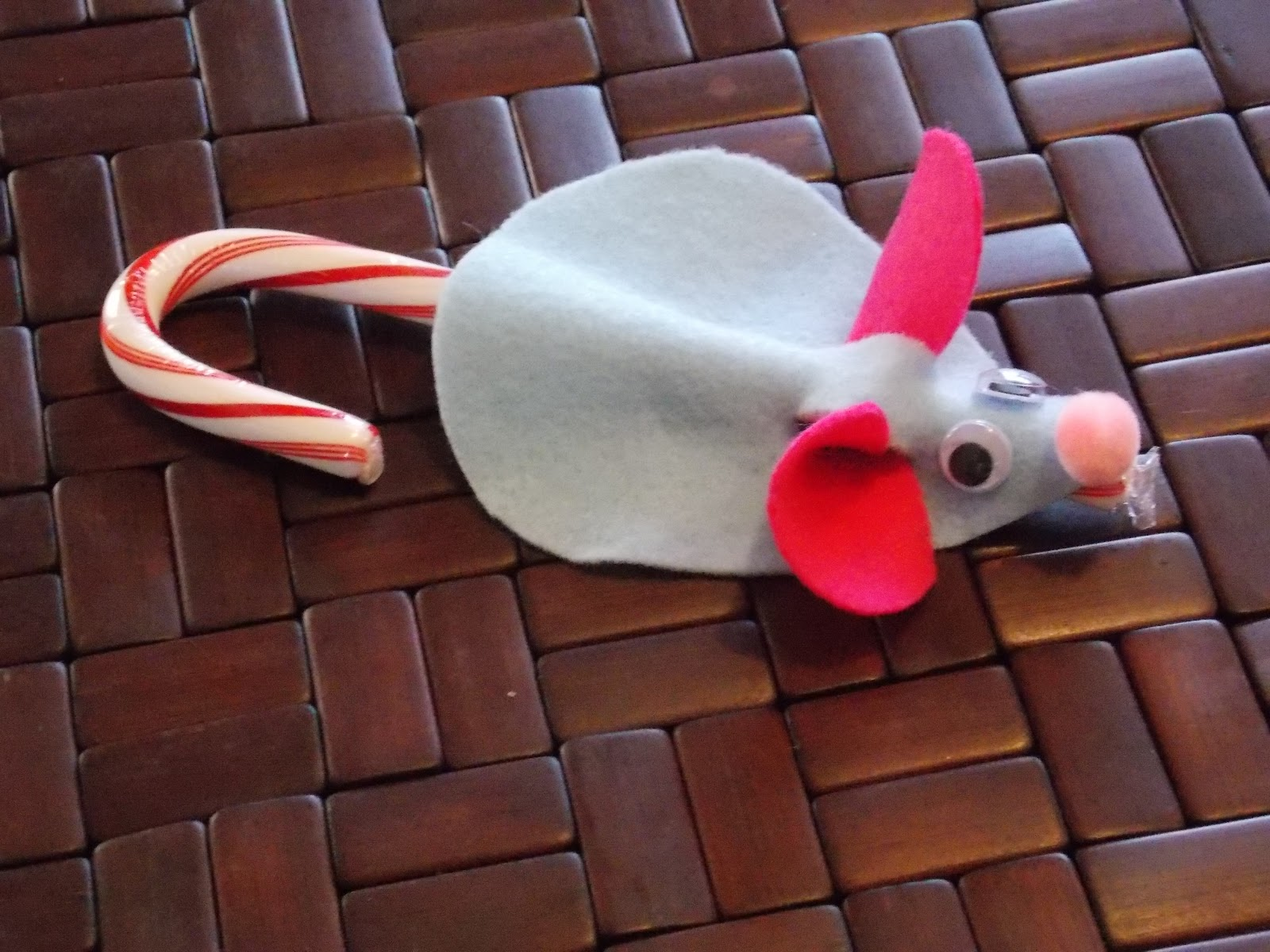 Keep calm and kerri on craft easy candy cane mice