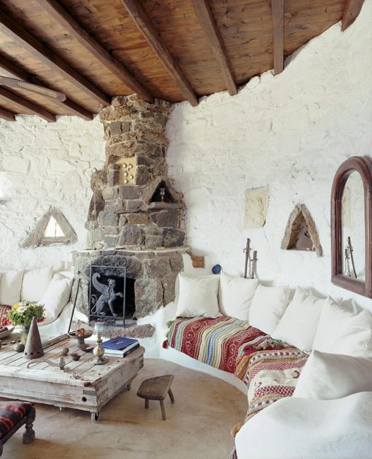 Dream Living Room: Dream With Me: Villa In Greece ♥ Помечтайте с мен: вила в