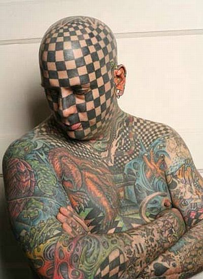 Most Amazing Tattoos Ever Stock Free Images