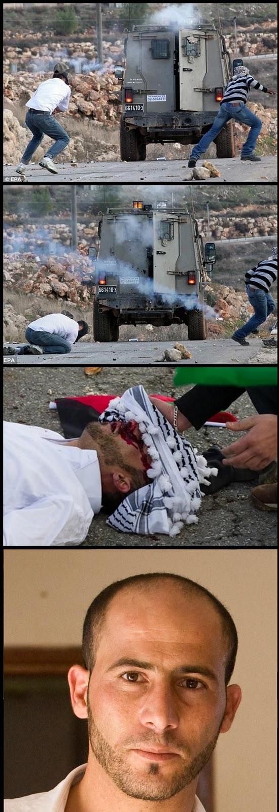Adoi - Lelaki Palestin Mati Ditembak Gas Pemedih mata Oleh Rejim Zionis