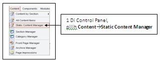 Bagaimana Cara membuat website dengan Joomla: Bagaimana Membuat Menu Cara Order di Joomla