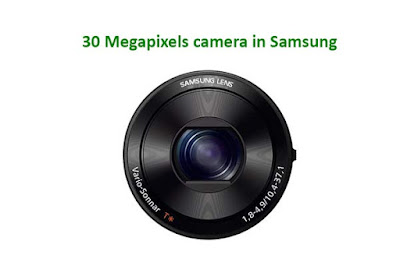 30 Megapixels camera in Samsung Galaxy S7 Edge -