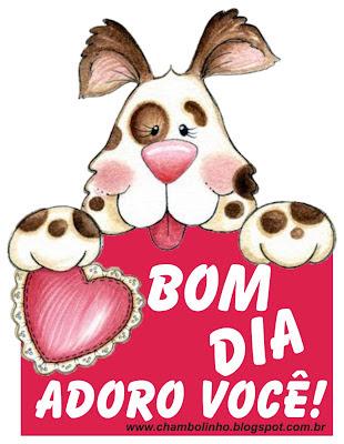 Recadinho de Bom Dia pra Facebook Fofinho