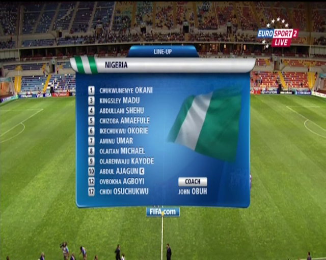 World Cup U20 - Nigeria vs Portugal