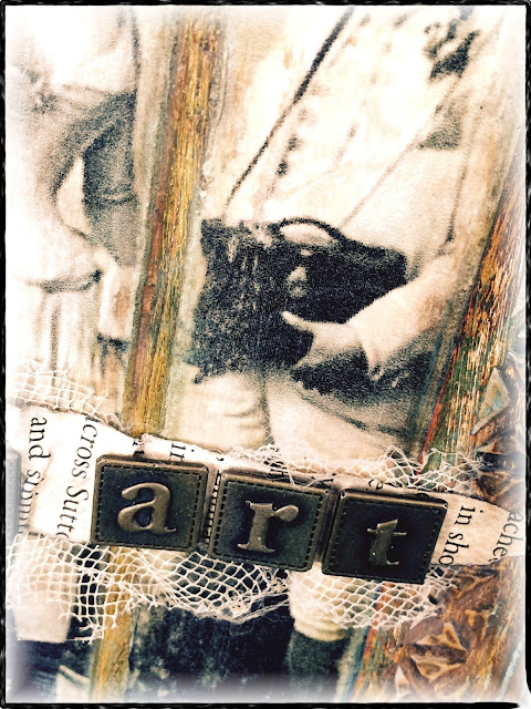 Twine Binding Junk/Art Journal
