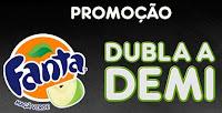 Promoção Fanta Dubla a Demi Lovato