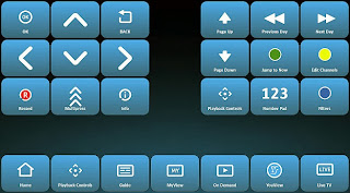 YouView switch accessible mode using Grids of icons.